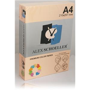 Alexschoellers A4 Fotokopi Kagıd Somon 500'lü