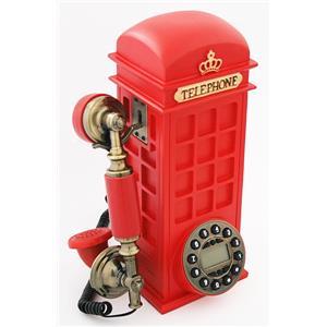 Antik Telefon Tuşlu Telefon Klubesi Fiğürlü 83002A