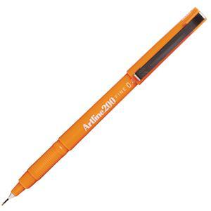 Artline 200N Fine Liner 0.4 Orange EK-200N