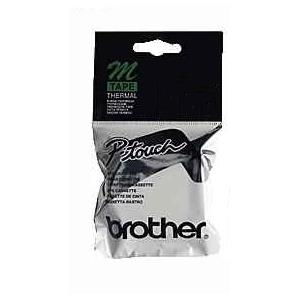 Brother P-Touch M-Tape 9mm Sari-Siyah Termal M09-K