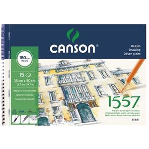 Canson 1557 Çizim Blok 120gr/15syf FCNS120153550