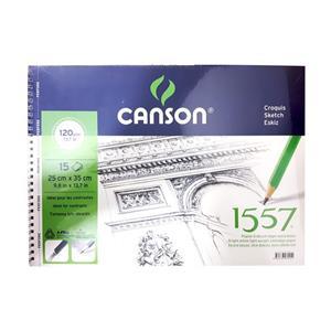 Canson 1557 Resim Çizim Blok 120GR/15syf