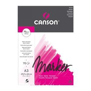 Canson Marker Çizim Blok A3 70gr/70syf 200297233