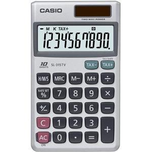 Casio Hesap Makinesi Cep Tipi Sl-315tv