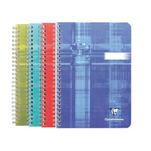Clairefontaine A5 Kareli Defter 90yp Spiral 8542
