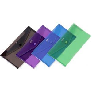 Comix 13.5x25 Çitçitli Seffaf Dosya A1855