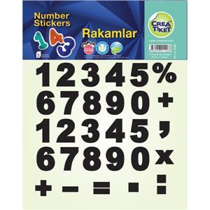 Crea Rakamlar Etiketi No:1126