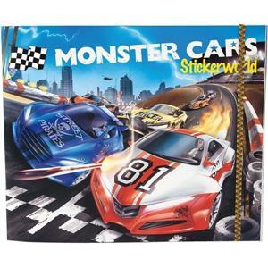 Depesche Monster Cars Sticker Dk06244
