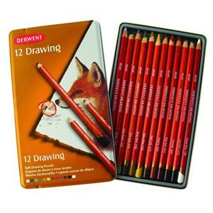 Derwent Drawing 12li Teneke Kutu Dw0700671