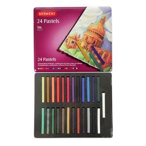 Derwent Pastels 24lu Teneke Kutu Dw36004