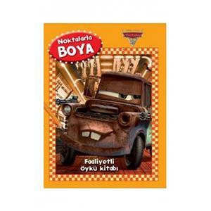 Disney Arabalar Noktalarla Boya Kitabi