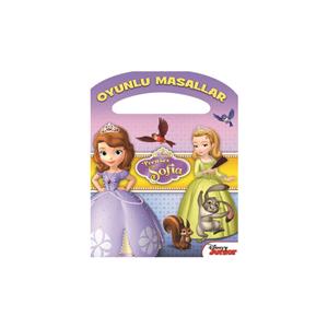 Disney Oyunlu Masallar Sofia Boyama Çantasi 4-6yas