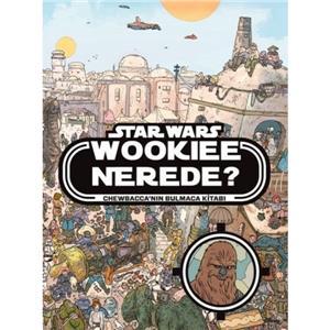Disney Star Wars Wookiee Nerede? Bulmaca Kitabi