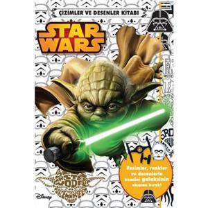 Disney Starwars Çizim Ve Desenler Kitabi