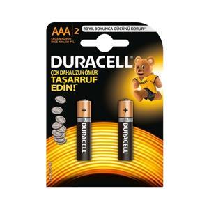 Duracell Pil Ince 2 Li Aaa Lr03