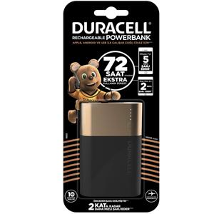 Duracell Powerbank 10050 mah 72saat