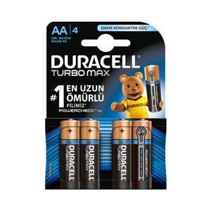 Duracell Turbo Max Kalem Pil 4Lü
