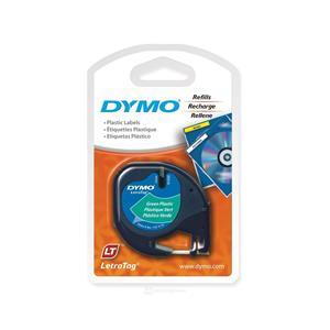 Dymo Letratag Plastik Serit 12mmx4mt Yesil 56425