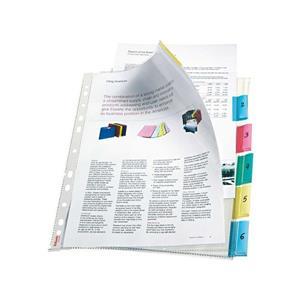 Esselte Poset Dosya Renkli Ayraçli 6 Sayfa 414160