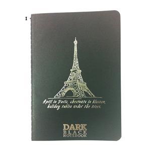 Gıpta A6 Dark Black Notebook 36ypr. Çizgisiz