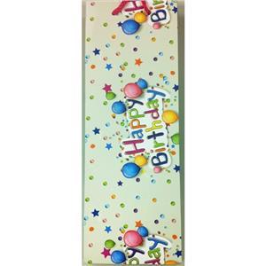 Gipta Long Karton Çanta 35x12 Maxi (Happy Birt)