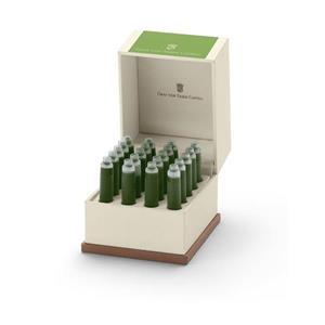 Graf von Faber-Castell Ink Cartridges Moss Green Perm20x 141134