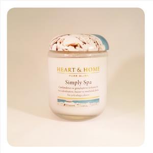 H&H Büyük Mum Simply Spa 35275000303