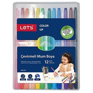 Lets Mum Boya Çevirmeli 12 Renk FDC-012