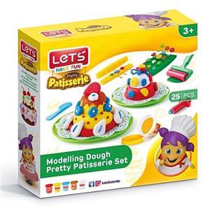 Lets Oyun Hamuru 5 Renk Pastane Seti L8492