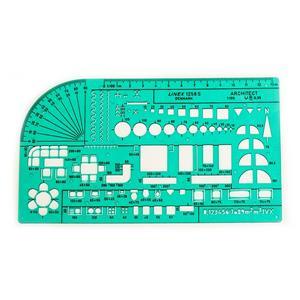 Linex Teknik Sablon 200x115mm (1:100) 1258s