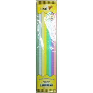Lino Oluklu Serit Pastel 8 Renk 40li 13x500mm