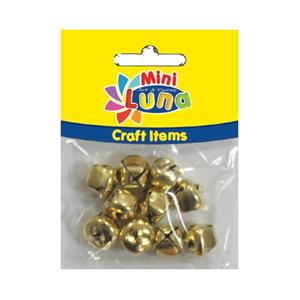 Luna Mini Craft Items Bells 15mm 10parça 0620916