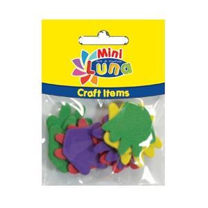 Luna Mini Craft Items Foamshapes 33mm 10parça