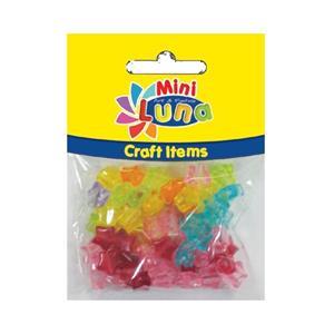 Luna Minicraft Items Pls.Beads 10mm Pls.Rope 30cm