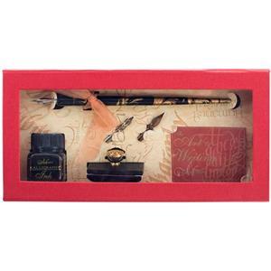 Manuscript Calligraphyseti Kalem+2uç+mürekkep+kutu