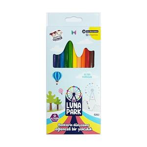 Masaüstü Lunapark 24 Renk Kuru Boya 5202