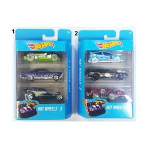 Mattel Hotwheels Araba Seti, 3'lü
