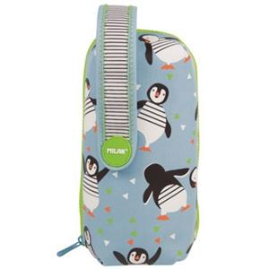 Milan Penguins Ürünlu Çoklu Kalem Çantası 08872PNG