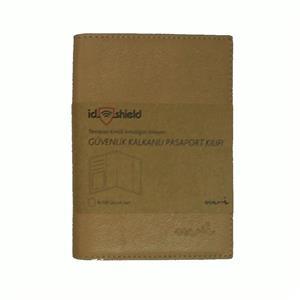 Moii Pasaport Cüzdani Deri Bisküvi M002591