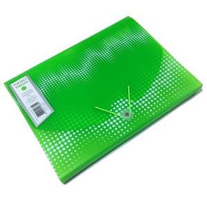 Noki Neon 12 Bölmeli Dosya Yeşil S20093N-160