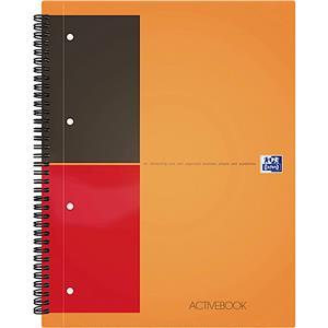 Oxford Activebook A4 80yp Çizgili Ppkapak100102994