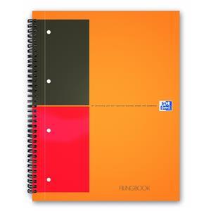 Oxford Fillingbook A4 100yp Sertkap.Çizg.100102000
