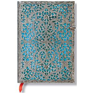 Paperblanks Maya Blue Mini Defter Çizgili 5-2566-5