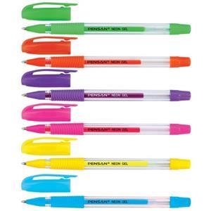 Pensan My-King Neon Jel Kalem 6 Renk