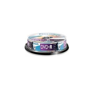 Philips Dvd-R 4.7gb 16x120dk 10lu Cakebox