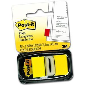 Post-It Index Isaret Bandi Sari 50yp 680-5