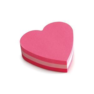 Post-It Yapışkanlı Not Kağıdı Kalp 225yp 2007-H