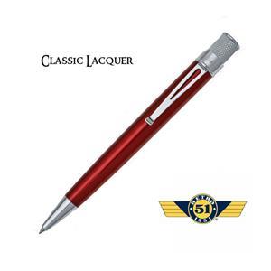Retro 1951 Classic Roller Kalem Red Vrr-1308