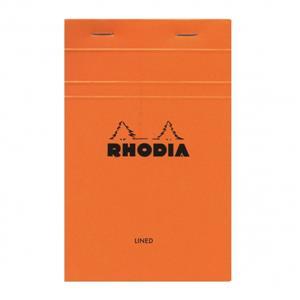 Rhodia 110x170 Çizgili Bloknot Turuncu Kapak 14600