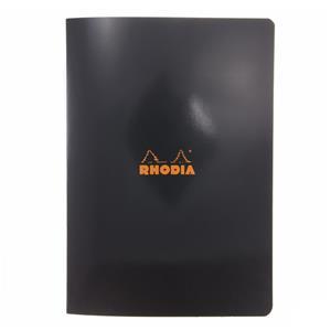 Rhodia A4 Çizgili Defter Siyah Kapak 48yp 119169